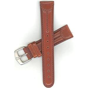 Genuine Brown Leather Wenger Watchband