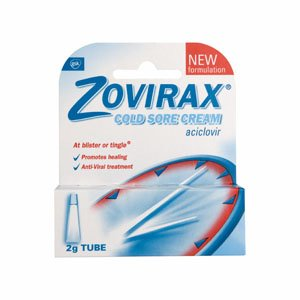 Zovirax Cold Sore Cream (2g)