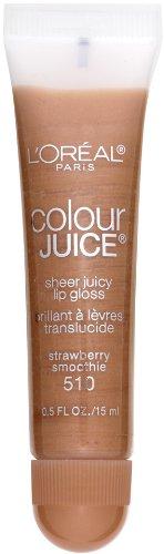 loreal-paris-colour-juice-sheer-juicy-lip-gloss-strawberry-smoothie-05-fluid-ounce-by-loreal-paris