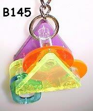 Bell Plastics B145 Triangle Obsession Acrylic Bird Toy