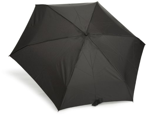 Totes Mini 5 Thin Umbrella Black