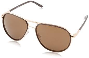 A.J. Morgan Women's V Cateye Sunglasses,Gold,198 mm