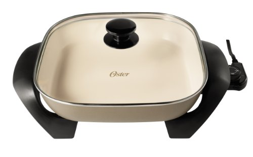 Oster Ckstskfm12wm Eco Duraceramic Electric Skillet 12