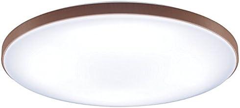 Panasonic LEDシーリングライト 調光・調色タイプ ~10畳 ミディアムブラウン HH-LC688A