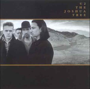 Original album cover of The Joshua Tree by U2