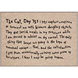 The Cat Day 751 Funny Doormat
