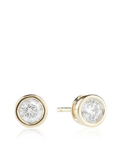 PARIS VENDÔME Orecchini  Puce Éclat Diamants  Oro Giallo