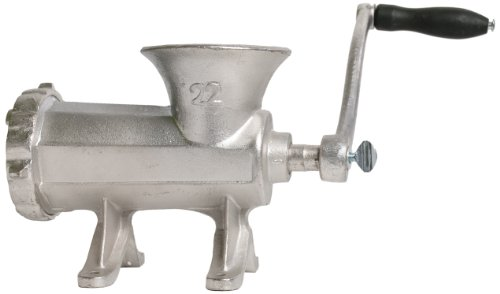 CHARD HG-22 No. 22 Tin Coated Cast Iron Hand Grinder (22 Meat Grinder Blade compare prices)