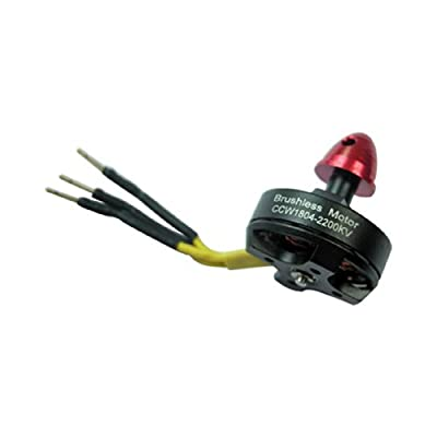 Red Brushless outrunner Motor CCW1804-2200kv for 2-3s RC 250 Quadcopter Drone