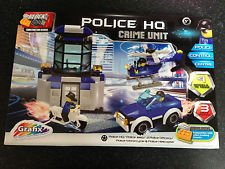 Block Tech Police Hq Crime Unit 228 Block Pieces - 1