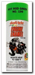 Esmalte de Motor Verde PlastiKote 199 Hot Rod, 12 onzas