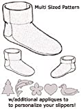 img - for Green Pepper Sewing Pattern F837 Polar Slipper All Sizes book / textbook / text book