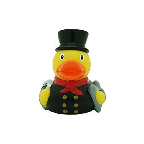 Lilalu sweep Mini Rubber Duck Bath Toy (bianco)
