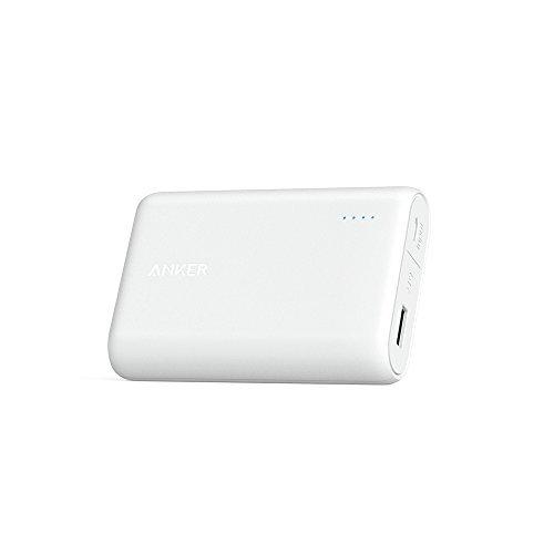 Anker PowerCore 10000 (10000mAh 世界最小最軽量* 大容量モバイルバッテリー パナソニックセル搭載) iPhone / iPad / Xperia / Android各種他対応 トラベルポーチ付属 【PowerIQ & VoltageBoost搭載】*2016年1月末時点 …