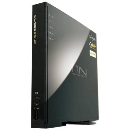 コレガ(アライドテレシス) IEEE802n.11n/g/b規格対応 無線LANルータ 有線ポートオールギガ/DLNA USBポート/WPS CG-WLR300GNE