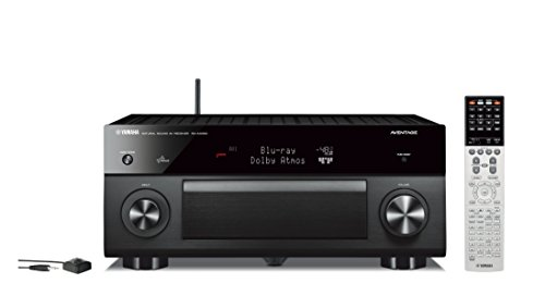 Yamaha RX-A3050 9.2-Channel Network AV Receiver with Built-In Wi-Fi and Bluetooth (Black)