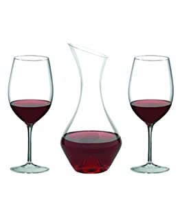 Ravenscroft RCroft Bordeaux Glasses & Decanter Gift Set by Ravenscroft Crystal
