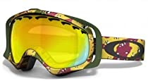 Oakley Crowbar Tanner Hall Signature Series Snow Goggle with Fire Lens