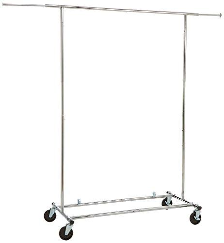 AmazonBasics Garment Rack - Chrome (Garment Rack Portable compare prices)