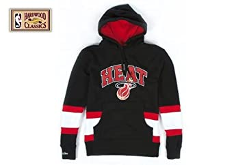 Miami Heat Mitchell & Ness Blocking Pullover Hoody by Mitchell & Ness