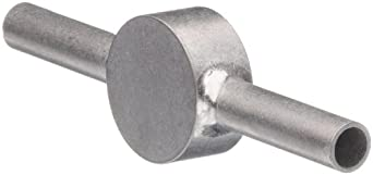 STC-06/2 Stainless Steel Hypodermic Tube Fitting, Coupler, 6 Gauge
