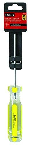 Task Tools T50441C Number-0 Robertson Elite Acetate Hard Grip Screwdriver, 4-Inch (Number Zero Screwdriver compare prices)