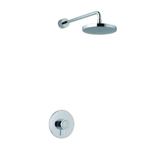 Mira Element SS BIR Shower Kit - Single Lever - Chrome - Single Spray Showerhead