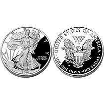 2010 American Eagle One Ounce Silver Proof Coin (PS1)