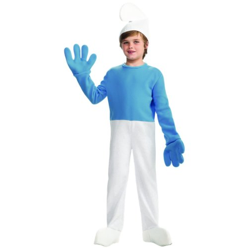 Deluxe Smurf Costume - Large