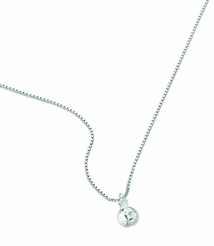 D for Diamond Children's Chain Necklace 925 Sterling Silver 35 cm P 2411