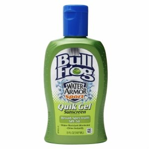 Bull Frog Water Armor Sport Quik Gel Sunscreen , SPF 50 5 Oz