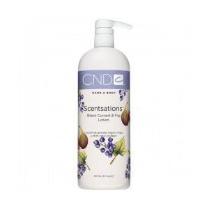 Cnd Creative Scentsations Black Currant & Fig Lotion Hand & Body Lotion, 31 Oz