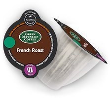 Keurig 2.0 Green Mountain French Roast Coffee , K-Carafe Packs (8) (Coffee Bean French Brew Pods compare prices)