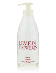 Emma Bridgewater Love & Flowers Hand Lotion 300ml