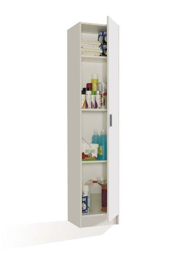 fores-007141o-mueble-armario-multiusos-1-puerta-color-blanco-medidas-182-x-37-x-37-cm-de-profundidad