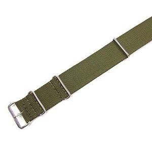 WCC Nato - Correa de nailon (longitud del pasador de 22 mm), color verde caqui marca WCC
