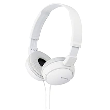 50% Off Or More Off On Headphones By Amazon | Sony MDR-ZX110A On-Ear Stereo Headphones (White) @ Rs.580
