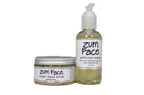 Indigo Wild Bundle- Zum Face Gentle Facial Cleanser & Zum Face Sugar Facial Scrub