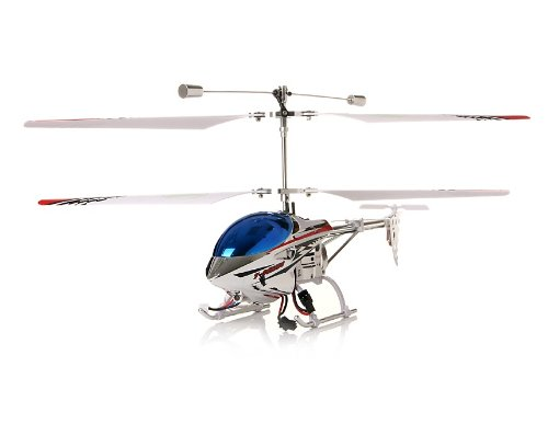 3-Channel Alloy Remote Control Helicopter with Gyroscope (Blue)