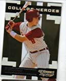2008 Sports Legends #Ch-8 Buster Posey - Florida State (College Heroes, Serial 3ed to 1000. Rookie Baseball Card. San Fransisco Giants World Champions!!! at Amazon.com