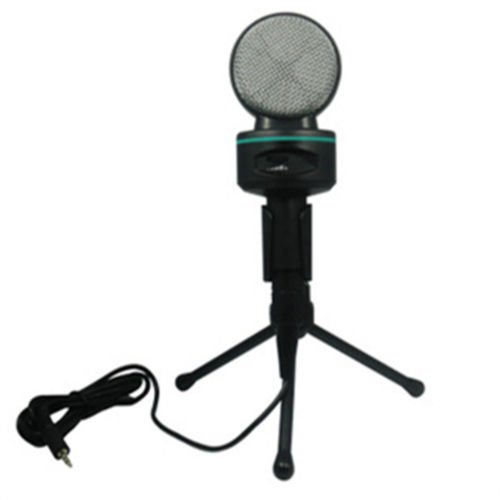 Condenser Sound Professional Microphone Mic + Stand For Youtube Pc Laptop Hs