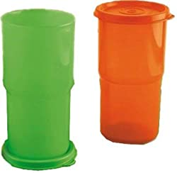 Tupperware Legacy Tumblers Set Of 2, 12 oz