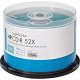 HP Lightscribe CD-R 52X 700MB 50-PK