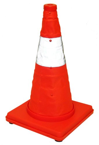 Eurow Safety Lighted Collapsible Traffic Safety Cone 17 Inch (Cone Safety Light compare prices)