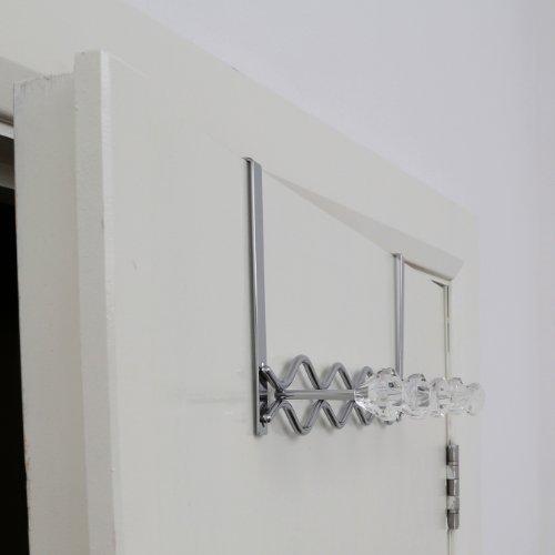 Premier housewares appendiabiti da porta 5 ganci con - Ganci appendiabiti da porta ...