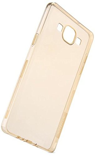JM golden Silicon Jelly Soft Back Cover Case for asus zenfone 6  available at amazon for Rs.91