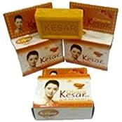 Dhara's Kesar & Aloeveera Soap, 75 Ml Each