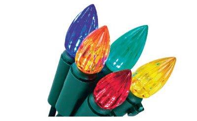 Noma/Inliten-Import 47702-88 Christmas Lights Set, Multi-Color Led, 200-Ct. Spool - Quantity 6