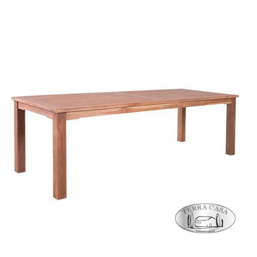 Esstisch PADANG 240 cm Teakholz Tisch eckig Gartentisch Gartenmöbel Premiumqualität bestellen