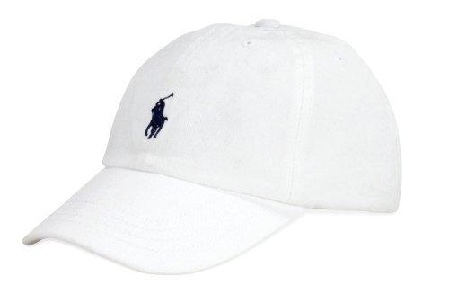 Ralph Lauren Unisex Classic Cap One Size (White)